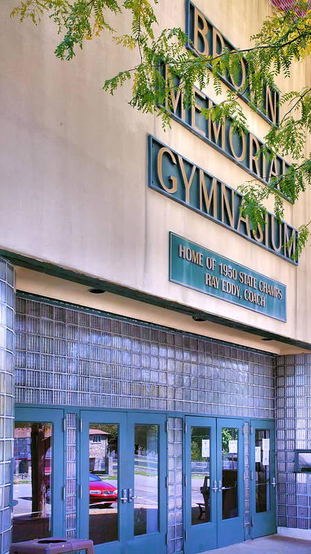 Gym Poster featuring the photograph Glory Days by Steven Ainsworth