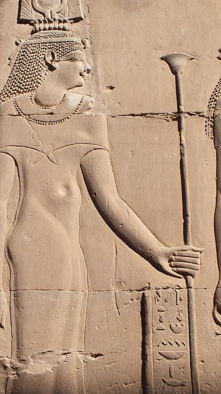 Hathor Poster featuring the photograph Hathor by Emma Manners