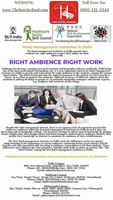 Hotel Management Institutes In Delhi Poster featuring the photograph Hotel Management Institutes In Delhi by The Hotel School