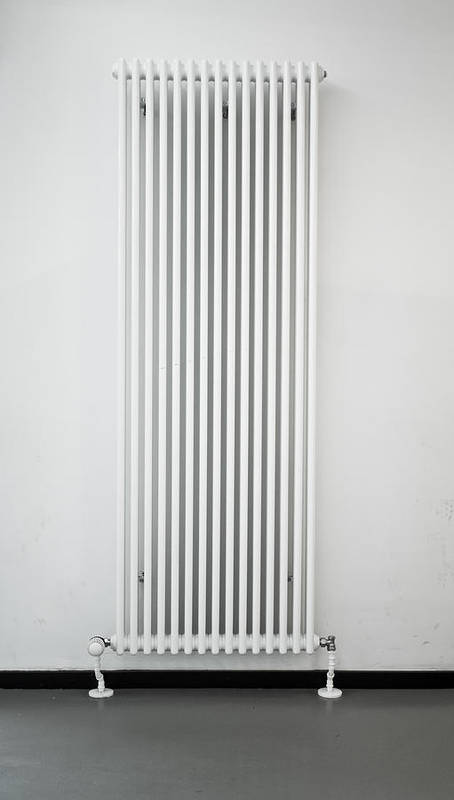 Background Poster featuring the photograph Radiator by Tom Gowanlock