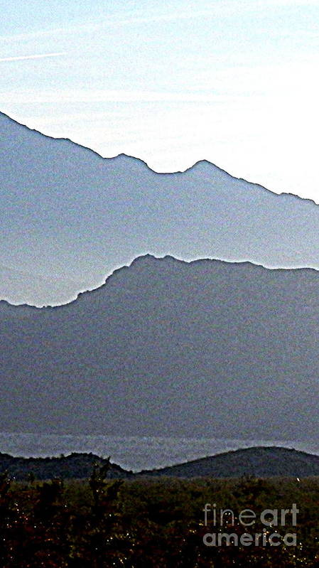 Boulder Beach Poster featuring the photograph Shades Of Grey by L Cecka