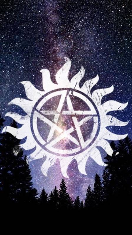 Supernatural Anti Possession Symbol Poster By Lexi Rowland