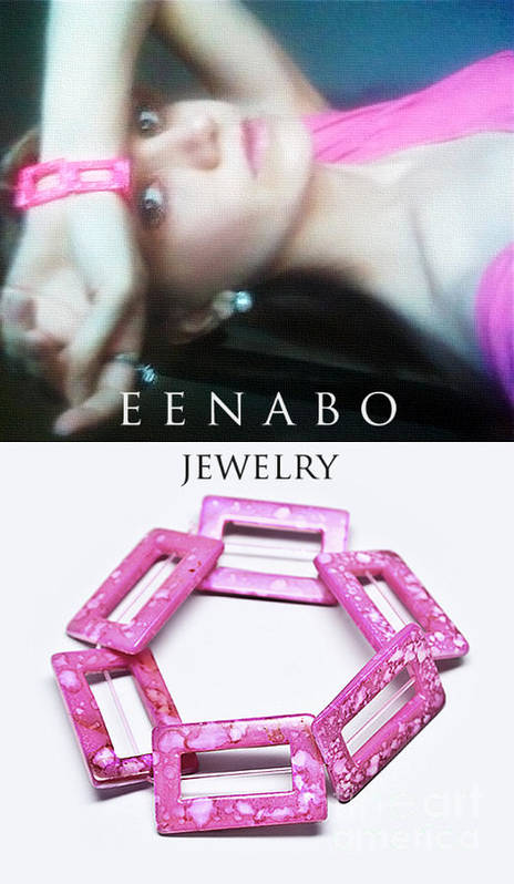 Pink Poster featuring the photograph My Art Jewelry by Eena Bo