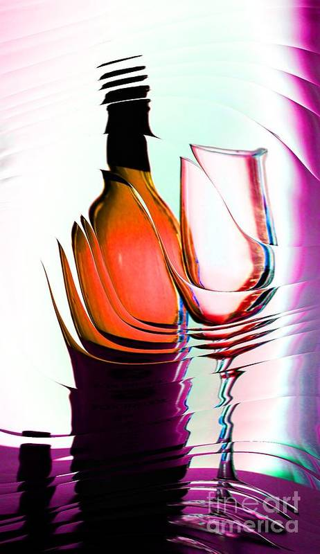 Bottle Poster featuring the photograph Broken Promise by Donna Bentley