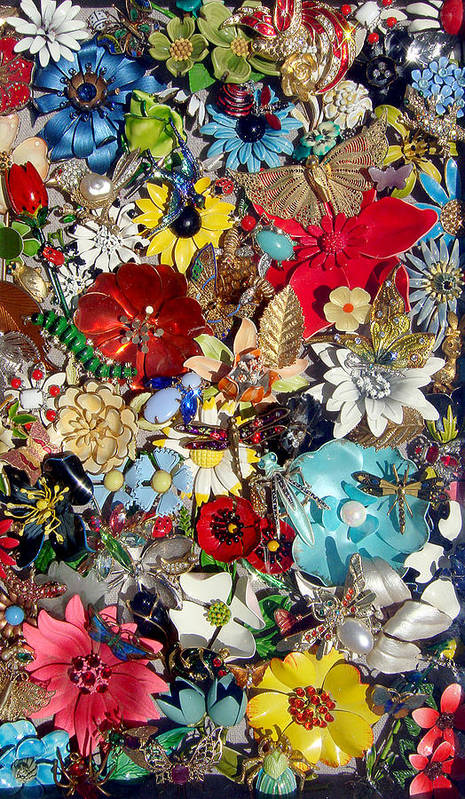 Jewel Poster featuring the photograph Jeweled Garden by Donna Blackhall