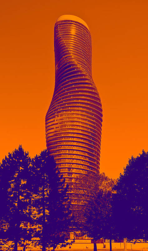 Art Poster featuring the photograph Absolute Tower by Les Lorek