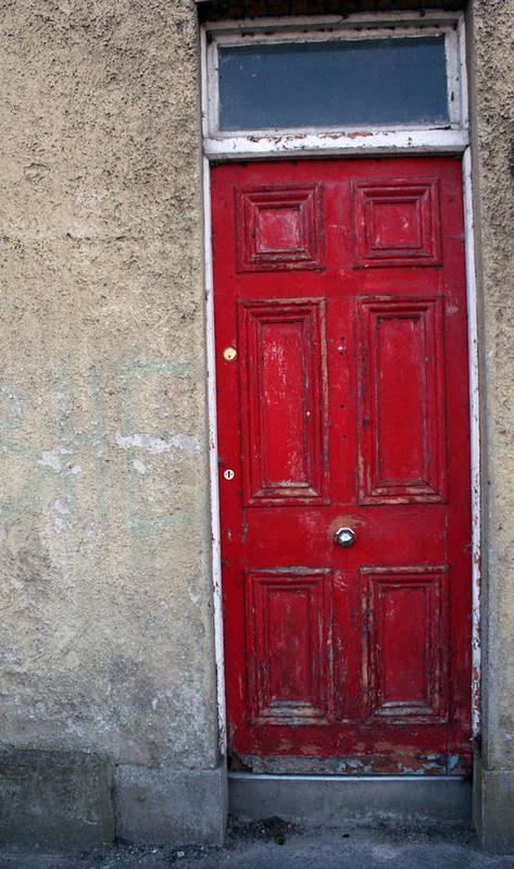 Door Poster featuring the photograph City 0022 by Carol Ann Thomas