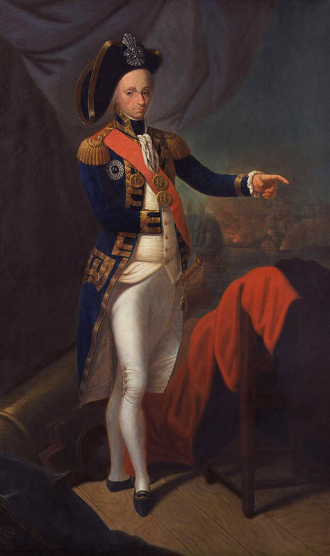 Painting Poster featuring the painting Horatio Nelson - Viscount Nelson by Mountain Dreams