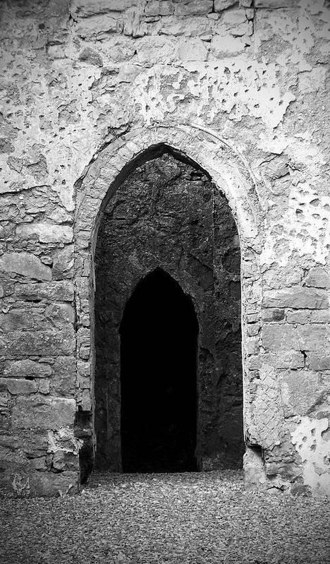 Ireland Poster featuring the photograph Inner Sanctum Fuerty Church Roscommon Ireland by Teresa Mucha