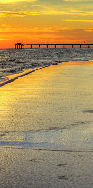 Poster featuring the photograph Okaloosa Triptych 2 by JC Findley