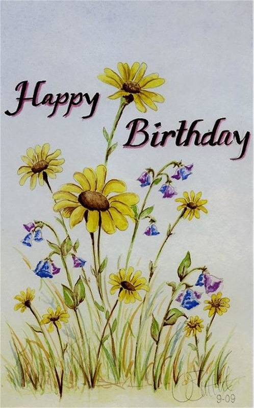 Card Poster featuring the painting Birthday Card by Jimmy Smith