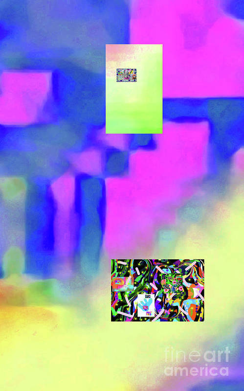 Walter Paul Bebirian Poster featuring the digital art 5-14-2015fabcdefghijklmnopqrtuvwxyzabcd by Walter Paul Bebirian
