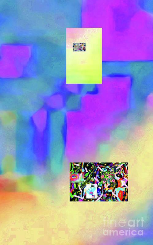 Walter Paul Bebirian Poster featuring the digital art 5-14-2015fabcdefghijklmnopqrtuvwxyzabcdef by Walter Paul Bebirian