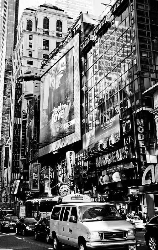 Darren Poster featuring the photograph Traffic Jungle by Darren Scicluna