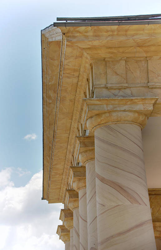 Arlington Poster featuring the photograph Arlington National Cemetery - Arlington House - 12121 by DC Photographer