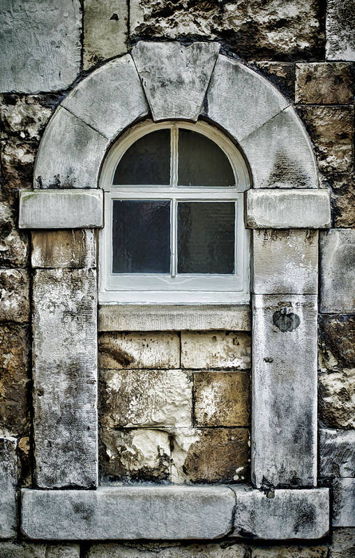 Window Poster featuring the photograph Keystone Window by Heather Applegate