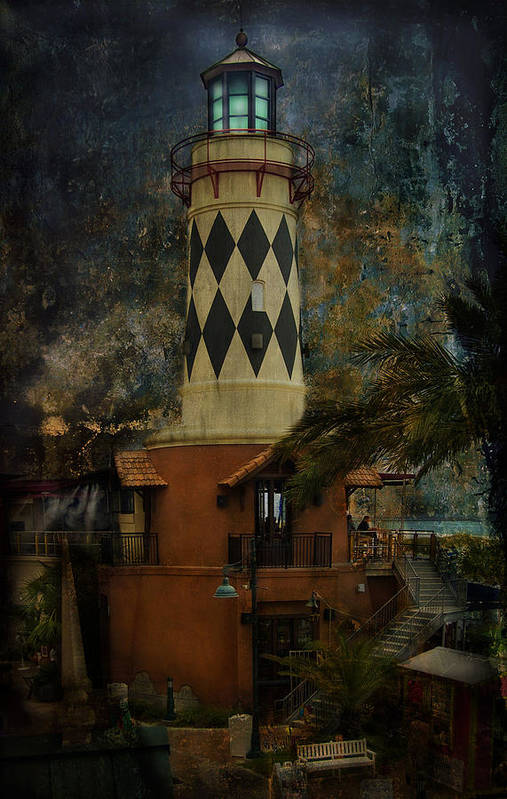 Lighthouse Poster featuring the photograph Lighthouse by Mario Celzner