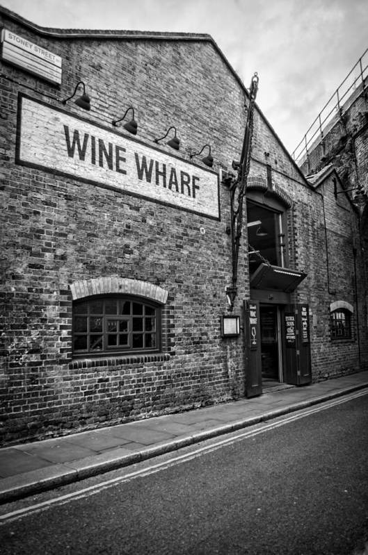 Wine Poster featuring the photograph Wine Warehouse by Heather Applegate
