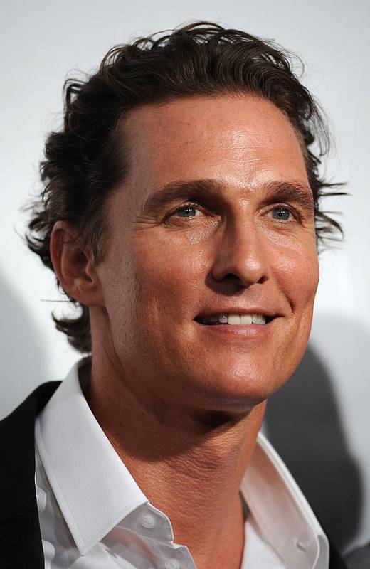 Matthew Mcconaughey Poster featuring the photograph Matthew Mcconaughey At Arrivals by Everett