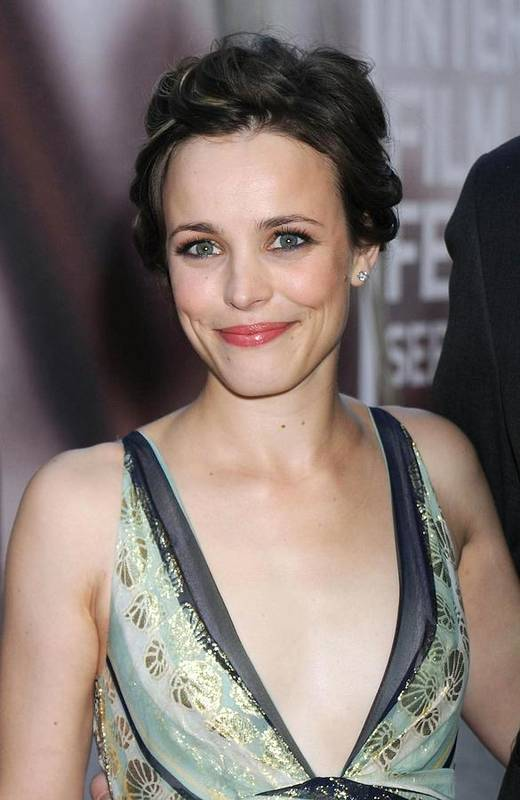 The Lucky Ones Gala Premiere Poster featuring the photograph Rachel Mcadams At Arrivals For The by Everett