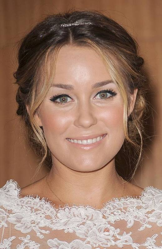Lauren Conrad Poster featuring the photograph Lauren Conrad At In-store Appearance by Everett