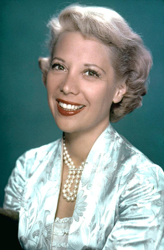 1950s Portraits Poster featuring the photograph Dinah Shore, Ca. 1950s by Everett