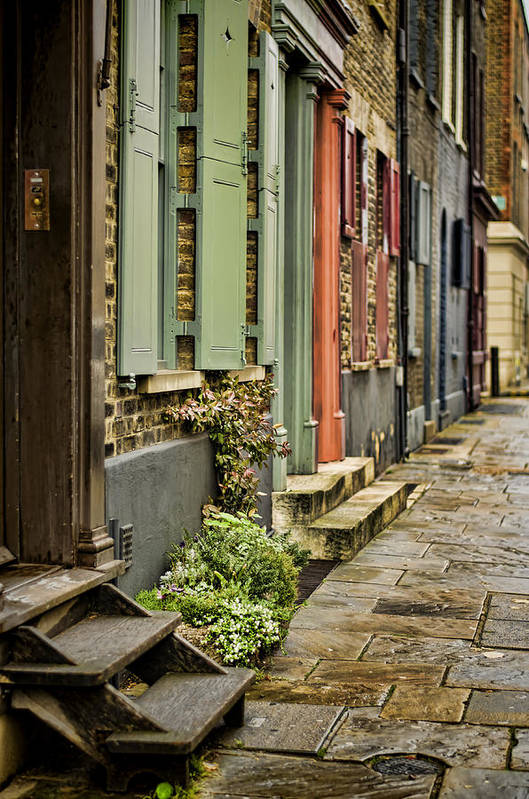 London Poster featuring the photograph Fournier Street by Heather Applegate
