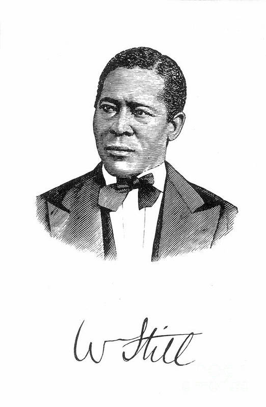 19th Century Poster featuring the photograph William Still (1821-1902) by Granger