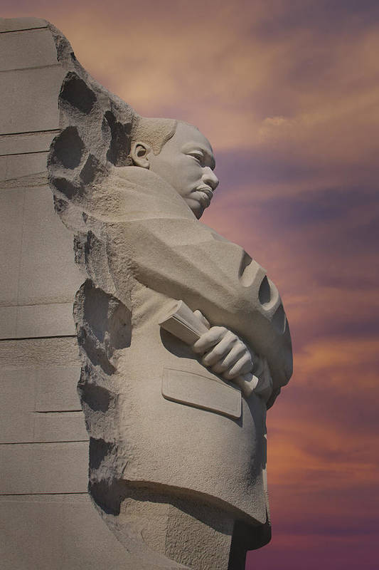 District Of Columbia Poster featuring the photograph Dr. Martin Luther King Jr Memorial by Susan Candelario