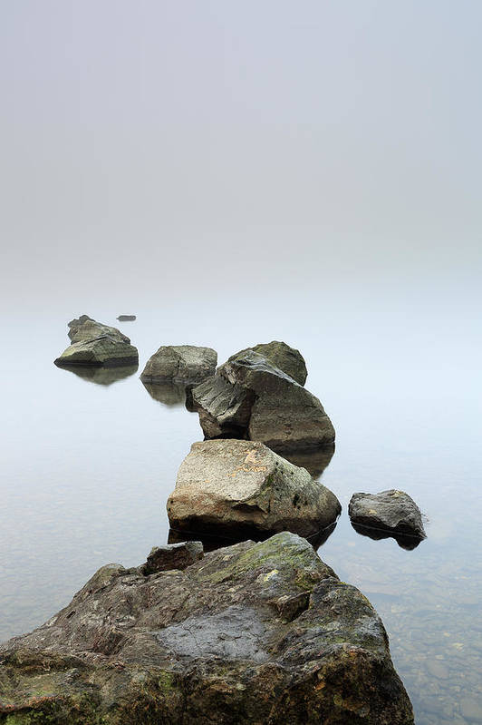 Fog Poster featuring the photograph Loch Lomond by Grant Glendinning