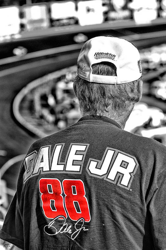 Dale Poster featuring the photograph Dale Jr by Karol Livote