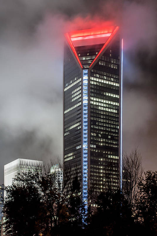Skyscraper Poster featuring the photograph Duke Energy Center by Brian Young