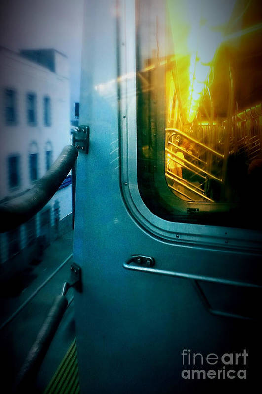 Subway Poster featuring the photograph Early Morning Commute by James Aiken