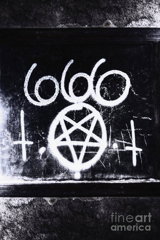 666 Poster featuring the photograph Evil by Margie Hurwich