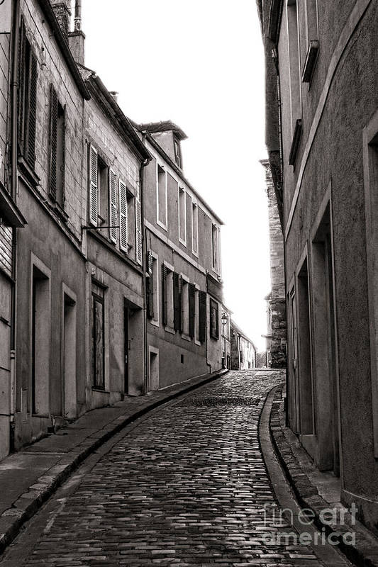 France Poster featuring the photograph French Street by Olivier Le Queinec