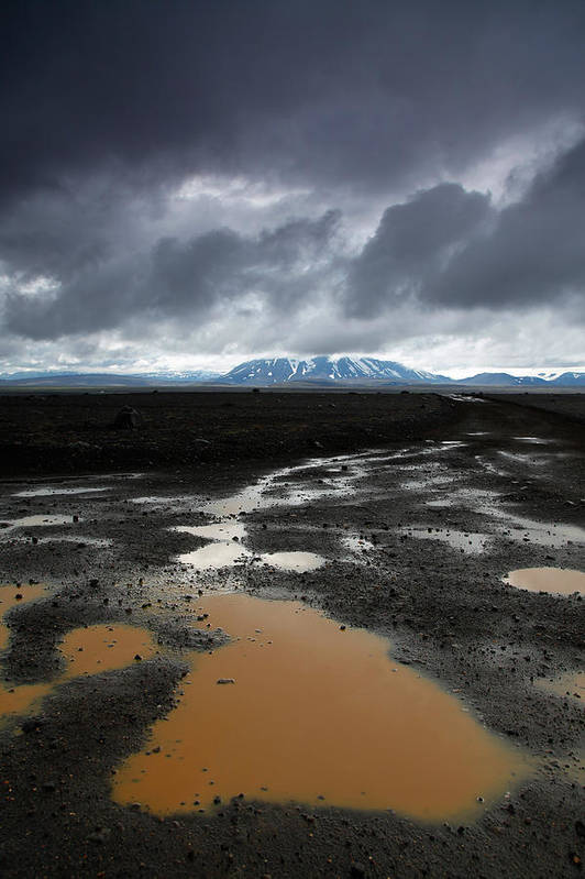 Iceland Poster featuring the photograph Iceland After The Rain by Nina Papiorek