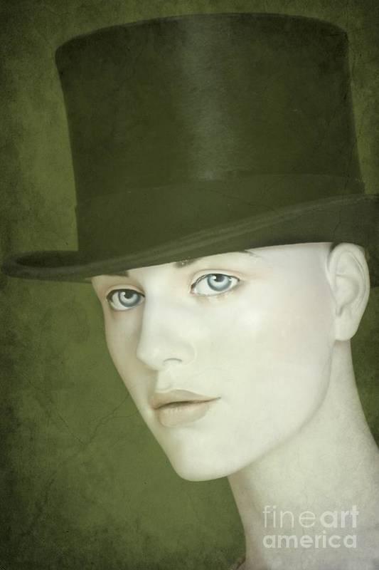 Hat Poster featuring the photograph Le Chapeau by Sophie Vigneault