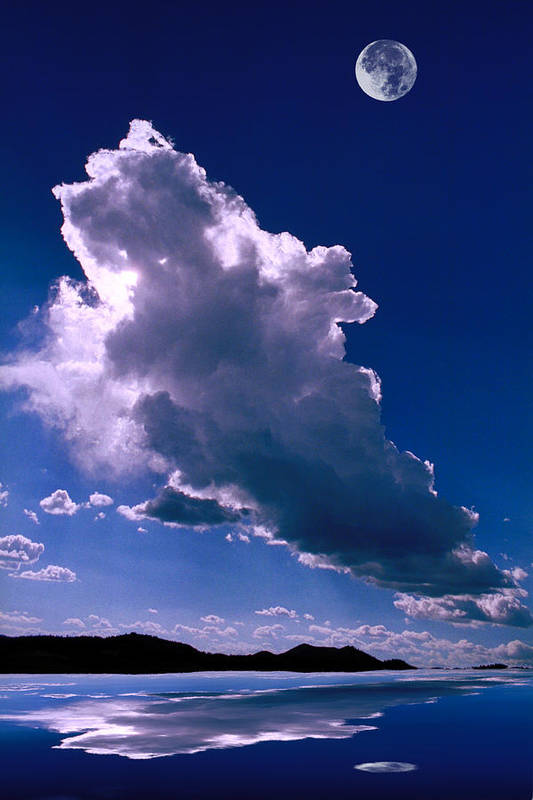 New Poster featuring the photograph New Mexico Sky by Jerry McElroy