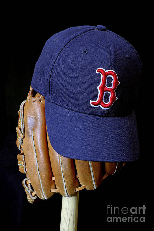 Boston Red Sox Poster featuring the photograph Red Sox Nation by John Van Decker
