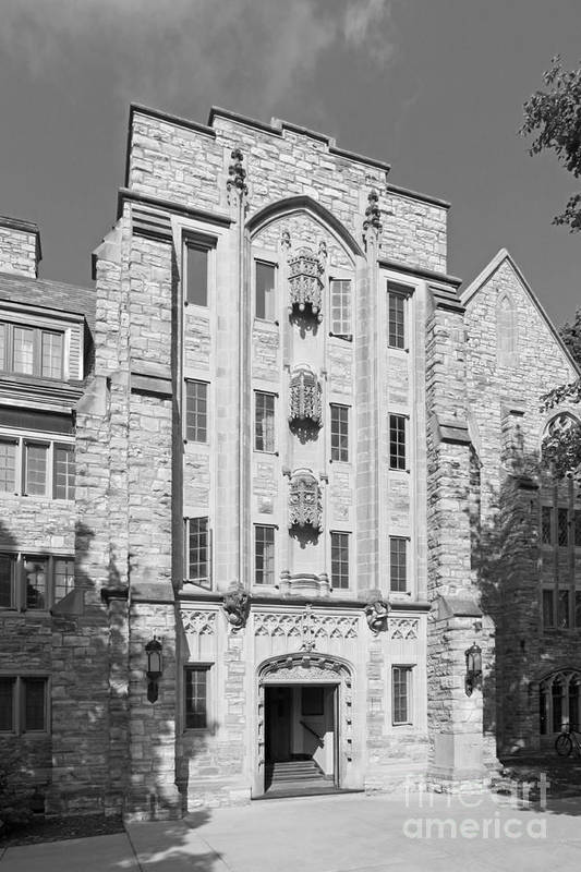 American Poster featuring the photograph St. Olaf College Mellby Hall by University Icons