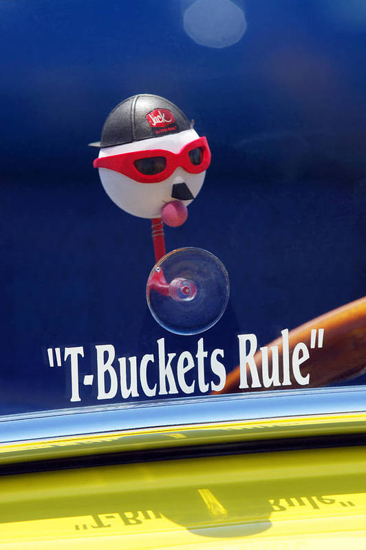 Transportation Poster featuring the photograph T-buckets Rule by Jill Reger