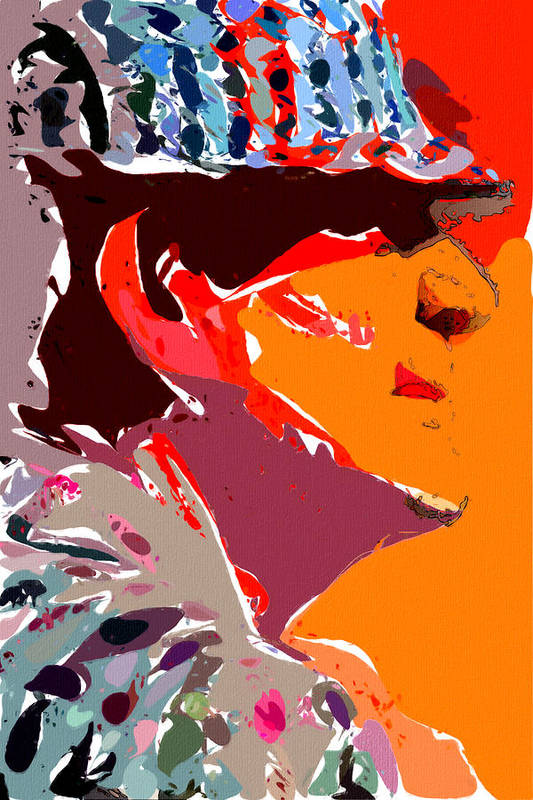 Bear Bryant Poster featuring the painting The Legend Bear Bryant by John Farr