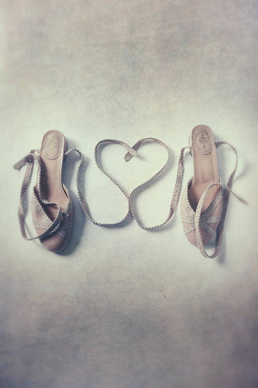 Pair Poster featuring the photograph The Love Of A Ballerina by Joana Kruse