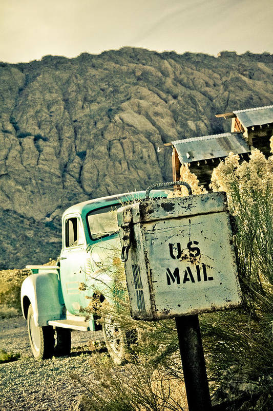 Old Poster featuring the photograph Us Mail by Merrick Imagery
