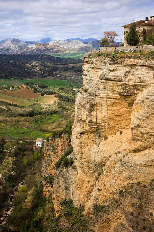 Andalucia Poster featuring the photograph Andalusia Landscape by Artur Bogacki