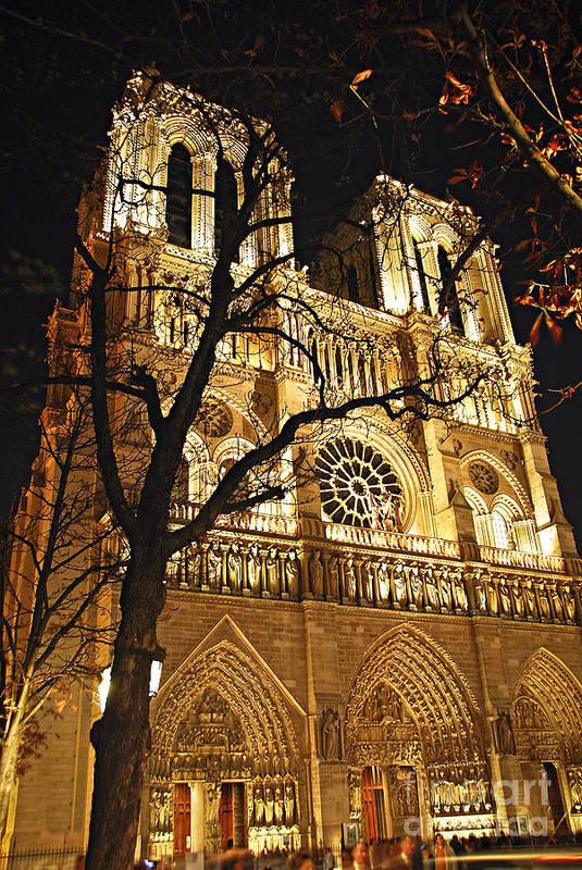 Architecture Poster featuring the photograph Notre Dame De Paris by Elena Elisseeva