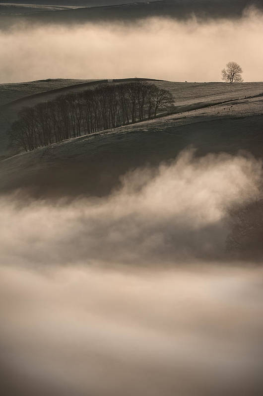 Peak District Poster featuring the photograph Peak District Landscape by Andy Astbury