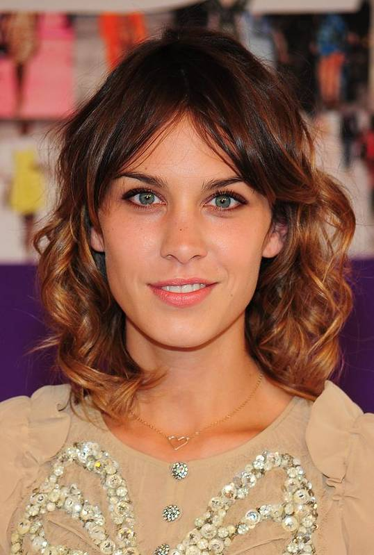 Alexa Chung Poster featuring the photograph Alexa Chung In Attendance For The 2010 by Everett