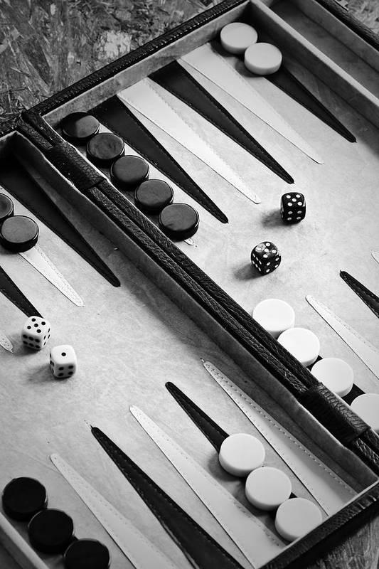 Backgammon Poster featuring the photograph Backgammon by Joana Kruse