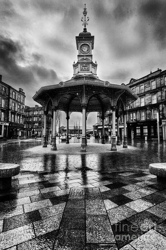 5dmkii Poster featuring the photograph Bridgeton Cross Bandstand Glasgow by John Farnan